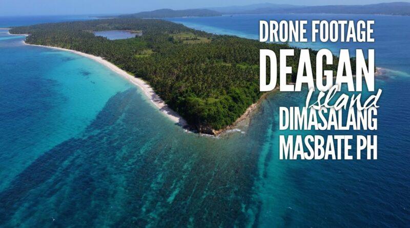 PHILIPPINEN MAGAZIN - VIDEOSAMMLUNG - Drohnenaufnahmen von der Insel Deagan | Dimasalang