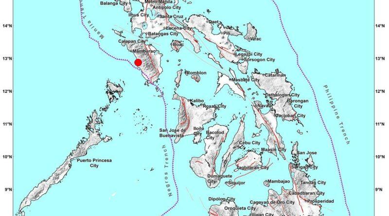 PHILIPPINEN MAGAZIN - NACHRICHTEN - Erdbeben Occidental Mindoro