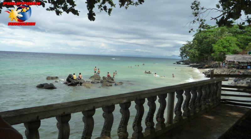 PHILIPPINEN MAGAZIN - FOTO DES TAGES - Rückkehr von einer Tour und Geburtstagsfeier am Strand Foto von Sir Dieter Sokoll