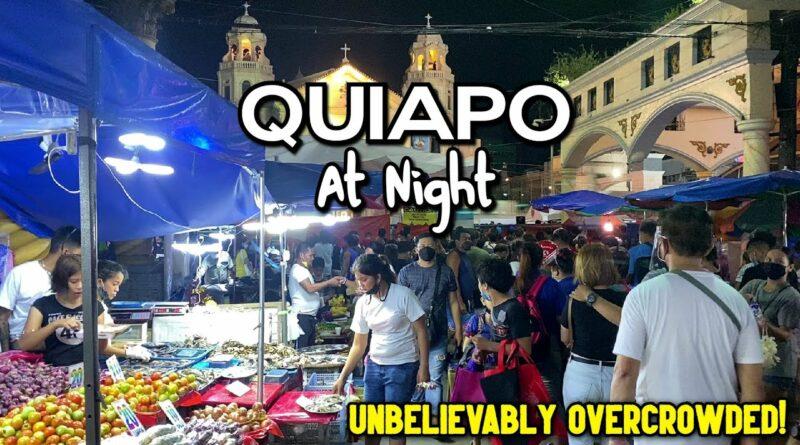 PHILIPPINEN MAGAZIN - VIDEOSAMMLUNG - Quiapo bei Nacht