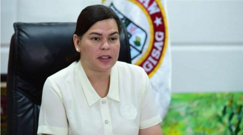 PHILIPPINEN MAGAZIN - NACHRICHTEN - Sara: Ich kandidiere nicht für das Präsidentenamt