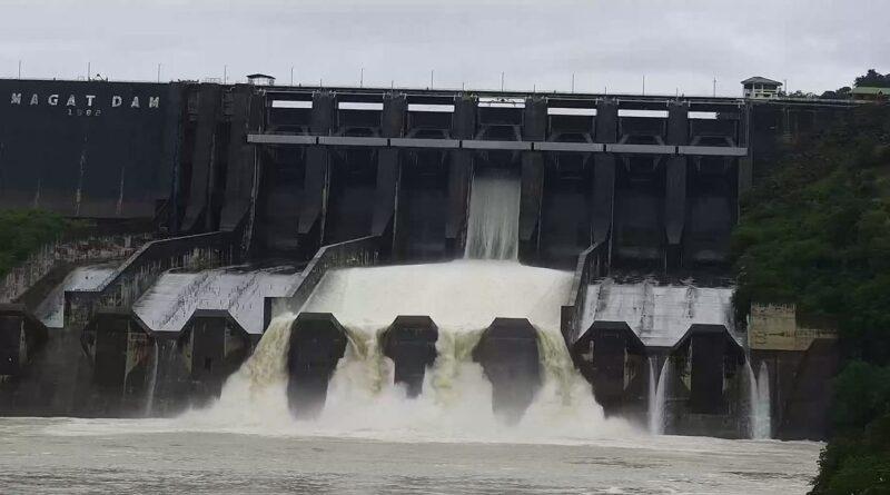 PHILIPPINEN MAGAZIN - NACHRICHTEN - Magat-Damm lässt am 10. Oktober 2021 um 15 Uhr wegen Maring Wasser ab