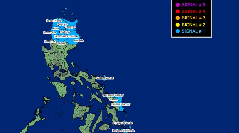 PHILIPPINEN MAGAZIN WETTER - NACHRICHTEN - WARNUNGEN Gültige Sturmwarnung von heutemorgen 11 Uhr