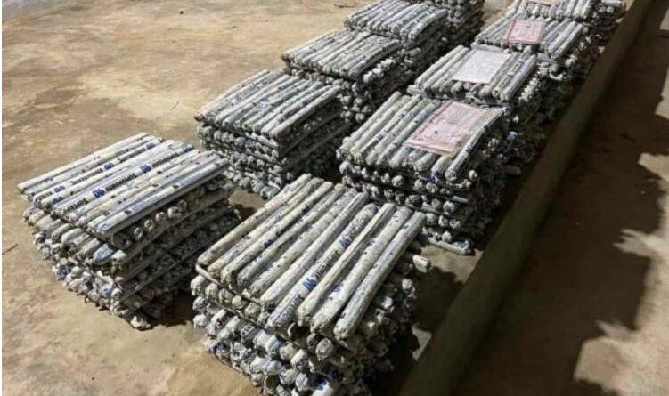 PHILIPPINEN MAGAZIN - NACHRICHTEN - 1.000 NPA-Landminen von Regierungstruppen in Bukidnon beschlagnahmt