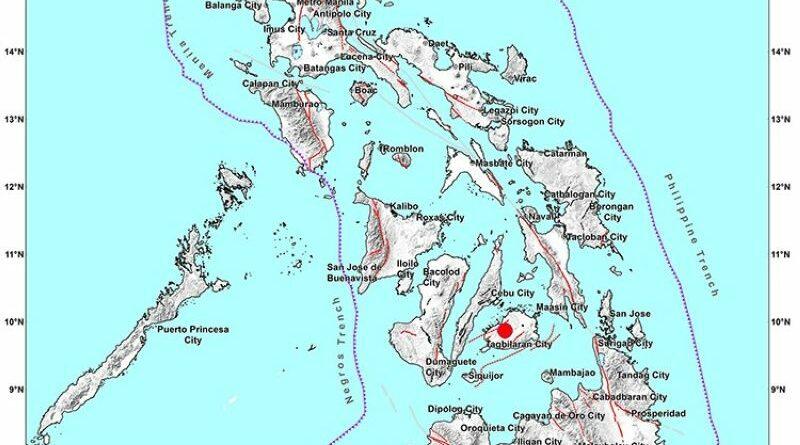 PHILIPPINEN MAGAZIN - NACHRICHTEN - Stärke 4,2 Erdbeben auf Bohol