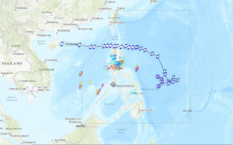 PHILIPPINEN MAGAZIN - NACHRICHTEN - Die Wettervorhersage für die Philippinen, Donnerstag, den 14. Oktober 2021
