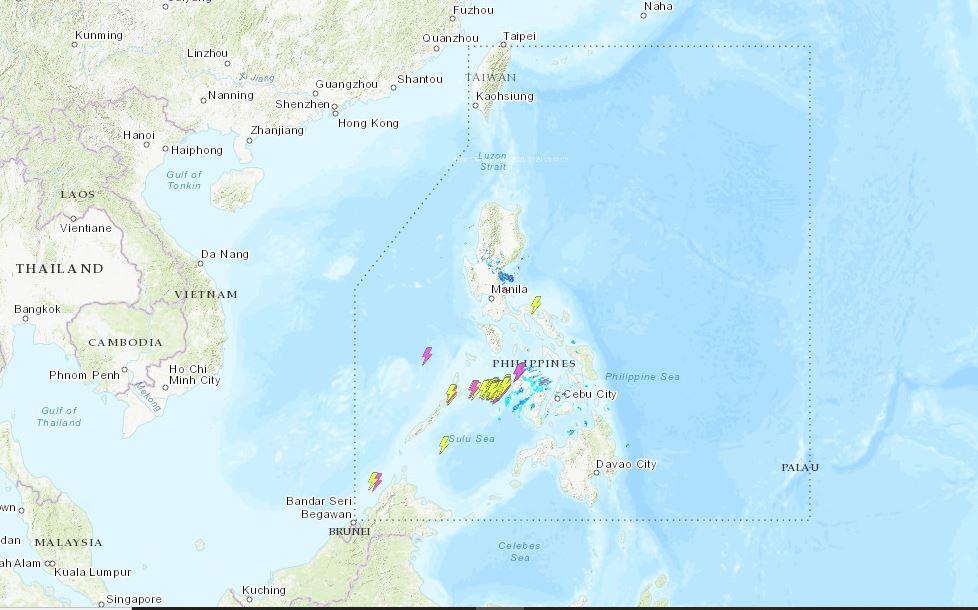 PHILIPPINEN MAGAZIN - WETTER - Die Wettervorhersage für die Philippinen, Mittwoch, den 20. Oktober 2021