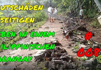 PHILIPPINEN MAGAZIN - VIDEOKANAL - Leben in einem philippinischen Barangay # 008 - Flutschäden beseitigen Foto + Video von Sir Dieter Sokoll